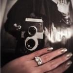 Samantha Ruth Prabhu's Round Cut Diamond Ring 3