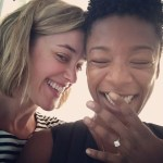 Samira Wiley's Diamond Cut Diamond Ring