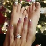 Coco Austin's Heart Shaped Diamond Ring