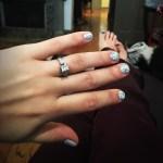 Rachele Lynae's Square Shaped Diamond Ring