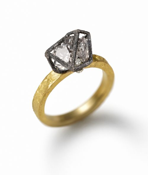 kelsall white and engagement ring diamonds harriet yellow grey modern fairtrade rings gold