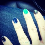 Danica McKellar's Square Shaped Diamond Ring