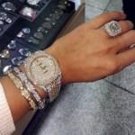 GG Gharachedaghi's Cushion Cut Diamond Ring