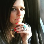 Karen Fairchild's Square Shaped Diamond Ring