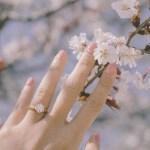 Tricia Gosingtian's Round Cut Diamond Ring