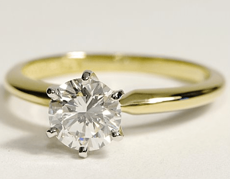six-prong-yellow-gold-engagement-ring