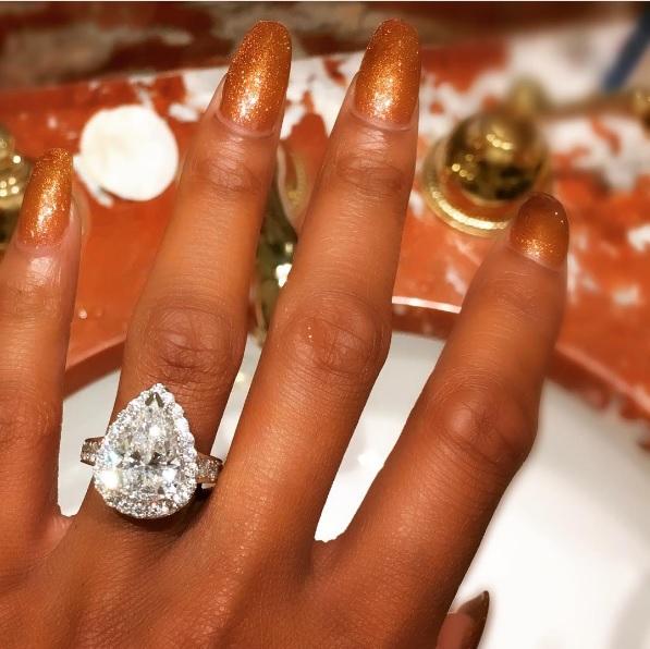 Ashley Nicole Roberts Engagement Ring