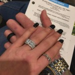 Natalie Marie Nelson's Cushion Cut Diamond Ring