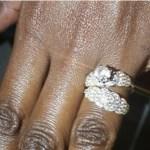 Laureen Mijungu's Round Cut Diamond Ring