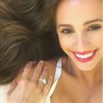 Vanessa Grimaldi's 3.75 Carat Round Brilliant Cut Diamond Ring