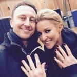 Natalie Lowe's Round Cut Diamond Ring