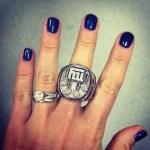 Amy Williams' Round Cut Diamond Ring