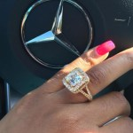 Arie Nicole's Cushion Cut Diamond Ring