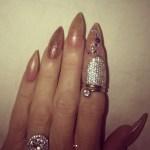 Marie Osmond's Oval Cut Diamond Ring