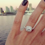 Tayler Francel's Round Cut Diamond Ring