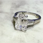 Vicki Belo's Emerald Cut Diamond Ring