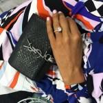 Chloe Maggs' Oval Cut Diamond Ring