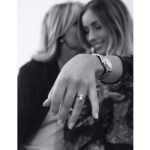 Danielle Fogarty's Oval Cut Diamond Ring