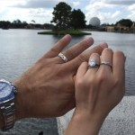 Katie Cazorla's Oval Cut Diamond Ring
