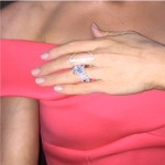 Kyly Boldy's Emerald Cut Diamond Ring