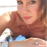 Michelle Heaton's Round Cut Diamond Ring
