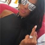 Tania Mehra's Cushion Cut Diamond Ring