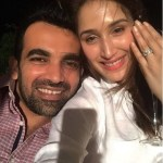 Sagarika Ghatge's Round Cut Diamond Ring