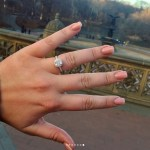 Hunter McGrady's Cushion Cut Diamond Ring