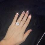 Maria Fowler's Round Cut Diamond Ring