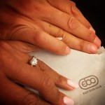 Star Jones' Round Cut Diamond Ring