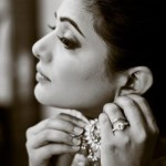 Priyamani's Round Cut Diamond Ring