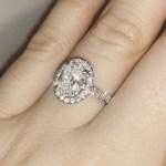 Shelley Rae's Oval Cut Diamond Ring
