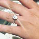 Sophie Austin's Marquise Shaped Diamond Ring