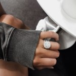 Jess Bauer's Cushion Cut Diamond Ring