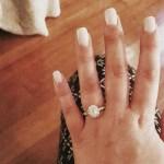 Mackenzie Standifer's Oval Cut Diamond Ring