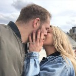 Chloe Madeley's Square Shaped Diamond Ring
