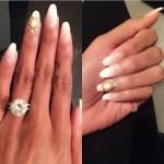 Regina Perera's Round Cut Diamond Ring