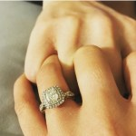 Sam Role's Cushion Cut Diamond Ring