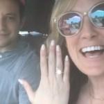 Brittany Saberhagen's Round Cut Diamond Ring