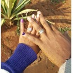Kambua's Cushion Cut Diamond Ring