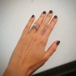 Katinka Hosszú's Square Shaped Diamond Ring