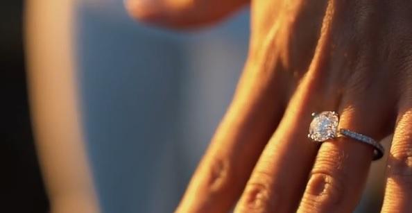 Cheryl Scott's Round Cut Diamond Ring