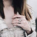 Jane Aldridge's Round Cut Diamond Ring
