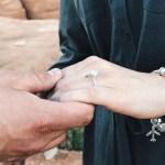 Josie Bates' Diamond Cut Diamond Ring