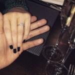 Samantha Goodrum's Square Shaped Diamond Ring