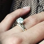 Carissa Rae's Round Cut Diamond Ring