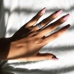 Kyrah Stewart's Cushion Cut Diamond Ring