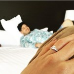 Rochelle Pangilinan's Round Cut Diamond Ring