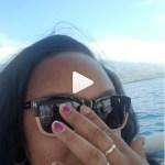 Asia Lee's Round Cut Diamond Ring