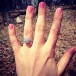 Melanie Orlins' Cushion Cut Diamond Ring